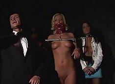 Slave auction.