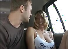 My favorite mom picked and fucked in a van