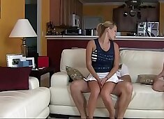 Nikki Mae in Fucking My Daughter and Mom does not KNow