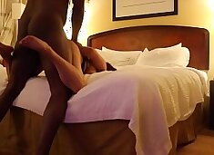 Cuckold: First BBC.. husband paid for the room