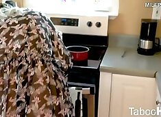 Nikki Brooks in Step Mom can see my morning wood
