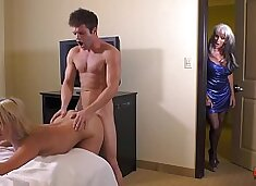 Auntie and the Kinky Cousins  caught fuckin coming soon  Sally D'angelo Maria Jade