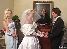 The Bride Double Blowjob