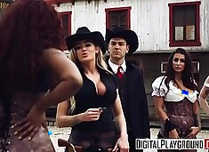 XXX Porn video - Rawhide - beautiful big-booty babe