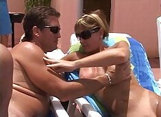 Trapeze Club pool party-MILFs suck cocks young and old-Full HD now on RED