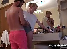 Husband Caught Mature Amateur Wife Fucking In Hotel
