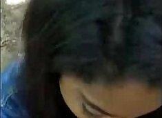 Black schoolgirl from Cabo Verde sucks my cock