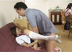 Japanese school girl multi squirt