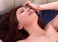 Amateur milf Keito Miyazawa fucked in threesome