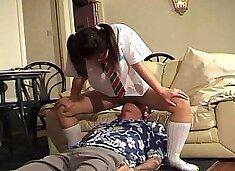 Thai twerking on my face