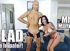 BANGBROS - Young Latina Mia Martinez Meets Vlad The Impaler
