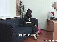 Tricky Agent - Casting couch erotica and porn Lena Love